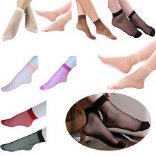 10Paar Sexy Damen Prinzessin Socken Söckchen Spitze ultra dünne Neu