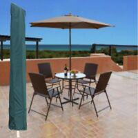 Parasol Cover Umbrella Bag Garden Patio Green Fit 7ft & Draw String Outdoor