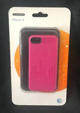 iPhone 5 Textured Gel Pink Case Protector