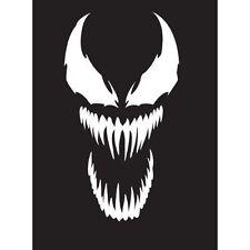 Venom face decal vinyl sticker spider man