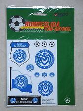 55 Stück  Aufkleber Sticker Set  MSV Duisburg Meidericher SV  Emblem(5x1604)
