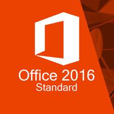 Office Standard 2016 Aktivierungsschlüssel Deutsch Word Excel PowerPoint Outlook