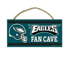 Philadelphia Eagles Wooden Sign Door 9 13/16in, Nfl Football, Fan Cave Wood