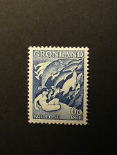 Greenland Legends-Mother of the Sea, Grayish Blue, 60 øre  MNH