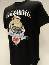 Ecko UNLTD PARA HOMBRE serpientes Vivo Negro T-Shirt Top de manga corta de deportes