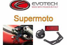 KIT PORTATARGA REGOLABILE RECLINABIL EVOTECH KTM 950 T Supermoto 2009 2010 2011