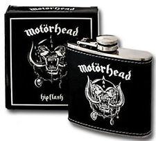 Official MOTORHEAD Stainless Steel Hip Flask 6oz / 180ml
