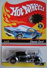 HOT WHEELS NEO-CLASSICS SERIES #4/6 CLASSIC CORD DIE-CAST CAR , year 2004