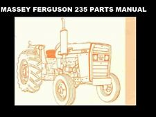 Massey Ferguson Mf 235 Parts Manual 360pgs for Mf235 Tractor Repair & Service