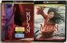 DISNEY MULAN LIVE ACTION 4K ULTRA HD BLU RAY 2 DISC + SLIPCOVER SLEEVE BUY NOW