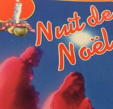 CHORALES & ORCHESTRE Tape Cassette NUIT DE NOËL Madacy Canada NOF-1710 ~ NOEL ~