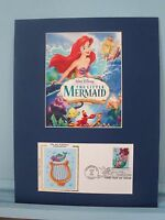 Walt Disney -  The Little Mermaid & First Day Cover of its own Stamp