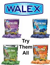 4 Walex Variety Mix Porta Pak Holding Tank Portable Toilet Chemical - Caravan RV