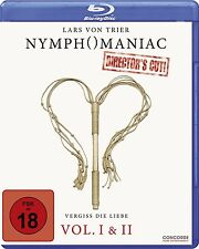 NYMPHOMANIAC Vol. I & II Uncut LARS VON TRIER Charlotte Gainsbourg 2 BLU-RAY Box