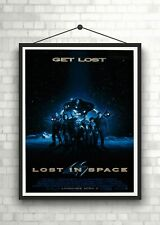Lost In Space Classic Large Movie Poster Art Print Maxi A1 A2 A3 A4