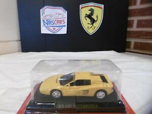 1/43 Ferrari Testarossa 1984 Jaune IXO (no Kyosho Hot Wheels)