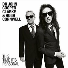 Dr John Cooper Clarke & Hugh Cornwell - This Time It's Personal (2016)  CD  NEW