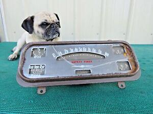 1938 Chevrolet Original OEM Speedometer Gauge Instrument Cluster Gas Oil Temp