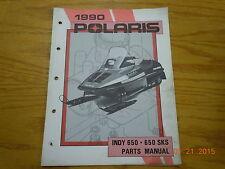 POLARIS 1990 INDY 650 650 SKS PARTS MANUAL