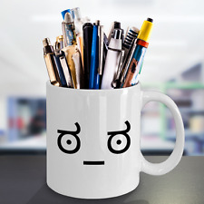 Look of Disapproval Meme - Funny & Sarcastic Text Face Emoji - Unique Coffee Mug