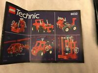LEGO Instruction MANUAL ONLY No Bricks Technic 8032