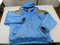 Vtg 90s STARTER Mens Blue NORTH CAROLINA TAR HEELS Insulated Jacket Size XL Coat