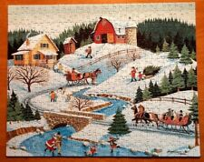 Puzzle Makers, 500  Pc. Jigsaw Puzzle, A WINTER DAY, 2006