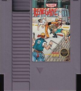 RENEGADE (1988) nes nintendo entertainment system taito us NTSC USA IMPORT