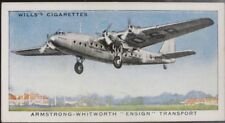 Single: No.2 ARMSTRONG WHITWORTH ENSIGN TRANSPORT - SPEED - Wills Ltd 1938