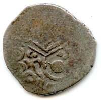 """I19-01 Indo-Sassanian, """"Sri Ha"""" drachm, western India, 8th-10th cent. AD"""