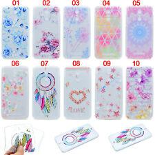 Blue Rose Slim Rubber Soft TPU Gel Skin Case Cover For Xiaomi Redmi 4X 3s Mi 5 6
