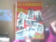 Les Évènements De L'année De Votre Naissance N° 1 : 1920 À 1979