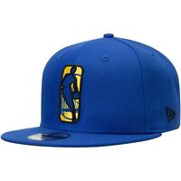 Golden State Warriors New Era Logo Man 9FIFTY Snapback Hat - Royal