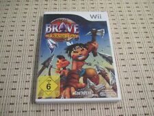 Brave a warrior's tale pour nintendo wii et wii u * OVP *
