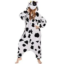 Newcosplay Halloween Neutral Adult Cartoon Costume Cows Cosplay (Large)