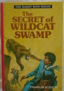 The Hardy Boys #6, The Secret of Wildcat Swamp by Franklin W Dixon hc 1977