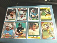 Football Heroes of Yesteryear 8 different original  EX/MINT Cards 10/20-3