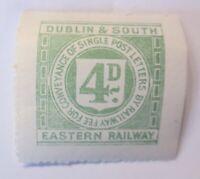 Großbritannien   Eisenbahn, Eastern Railway  Dublin & South   ♥ (7466)