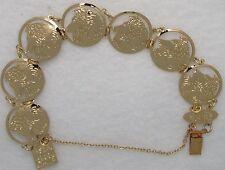 Shetland Sheepdog Jewelry Gold Bracelet