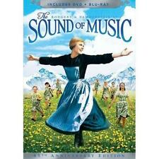 NEW! The Sound of Music (Blu-ray/DVD, 2010, 3-Disc Set, 45th Anniversary Edition
