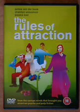"DVD - ""THE RULES OF ATTRACTION"" - 2002 - ( GAY INTEREST) - AS NEW"