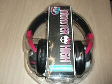 Monster High Headphones Black Monster High Voltageous Head Phones