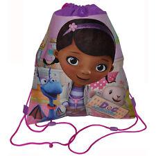 6 DISNEY DOC MCSTUFFINS KIDS Sling Bag Tote Backpack BIRTHDAY PARTY FAVORS
