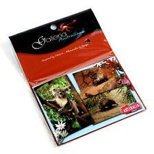 Australia Souvenir Metal Fridge Magnet Australian Animals Wombat Koala Echidna