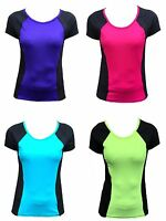 LADIES MARKS AND SPENCER SPORTS GYM TRAINING TOP M&S ACTIVEWEAR T-SHIRT 10-22