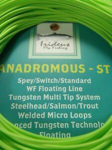 Irideus 10wt 100ft Pro Distance Floating Fly Fishing Line Steelhead Salmon Trout
