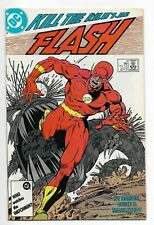 The Flash  #4 DC Comics 1987 VF
