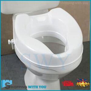 Raised Toilet Seat Novelle Clip On Toilet Seat Raiser Disability Aids Mobility