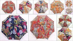 10 PC en Gros Pare Soleil Kantha Parapluie Mariage Décor Indien Parasol