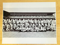 1936 Negro League East West All Star Game Team Picture Comiskey 8 1/2 X 11 Photo